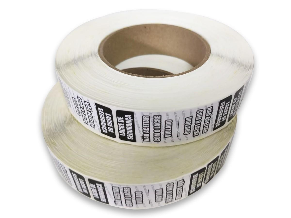 Etiqueta Adesiva Lacre Destrutível para Embalagens