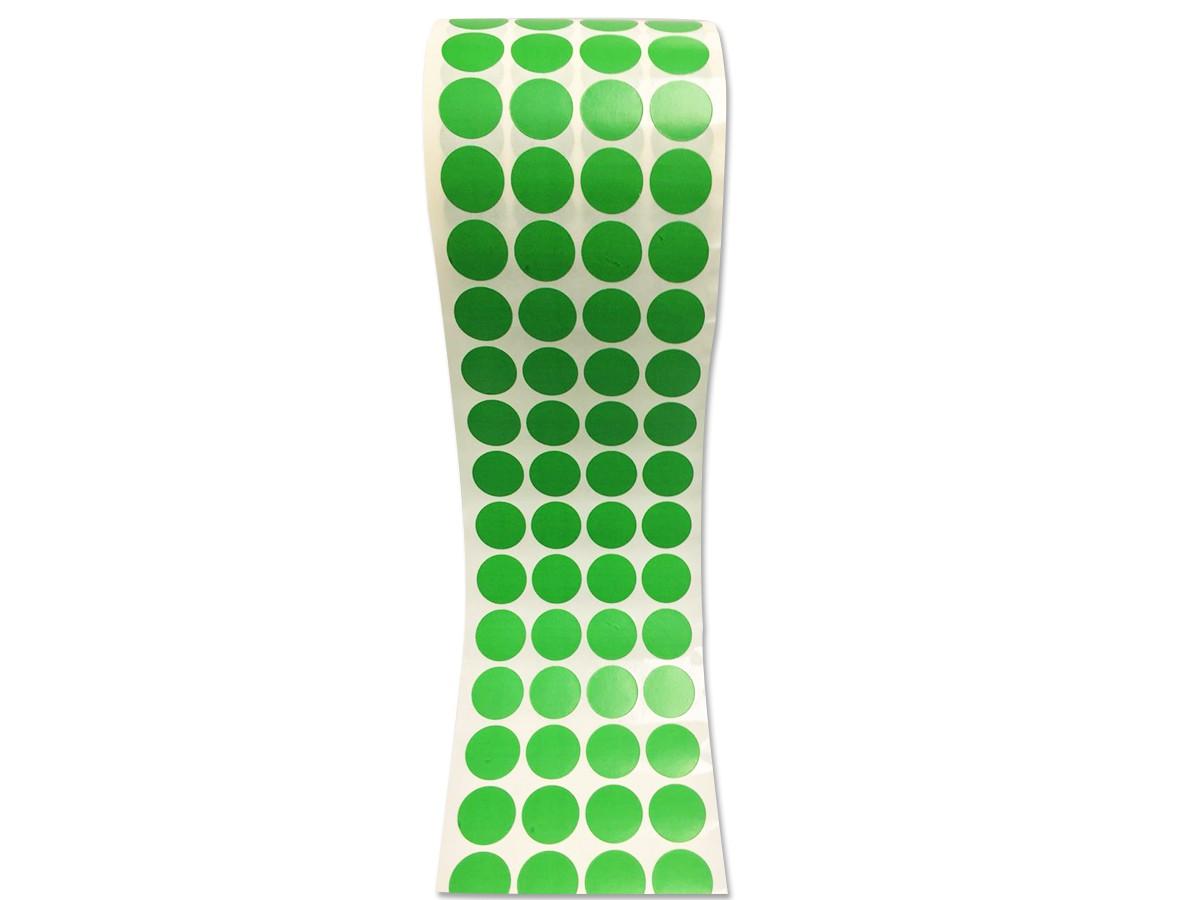 Etiqueta Bolinha Adesiva Verde