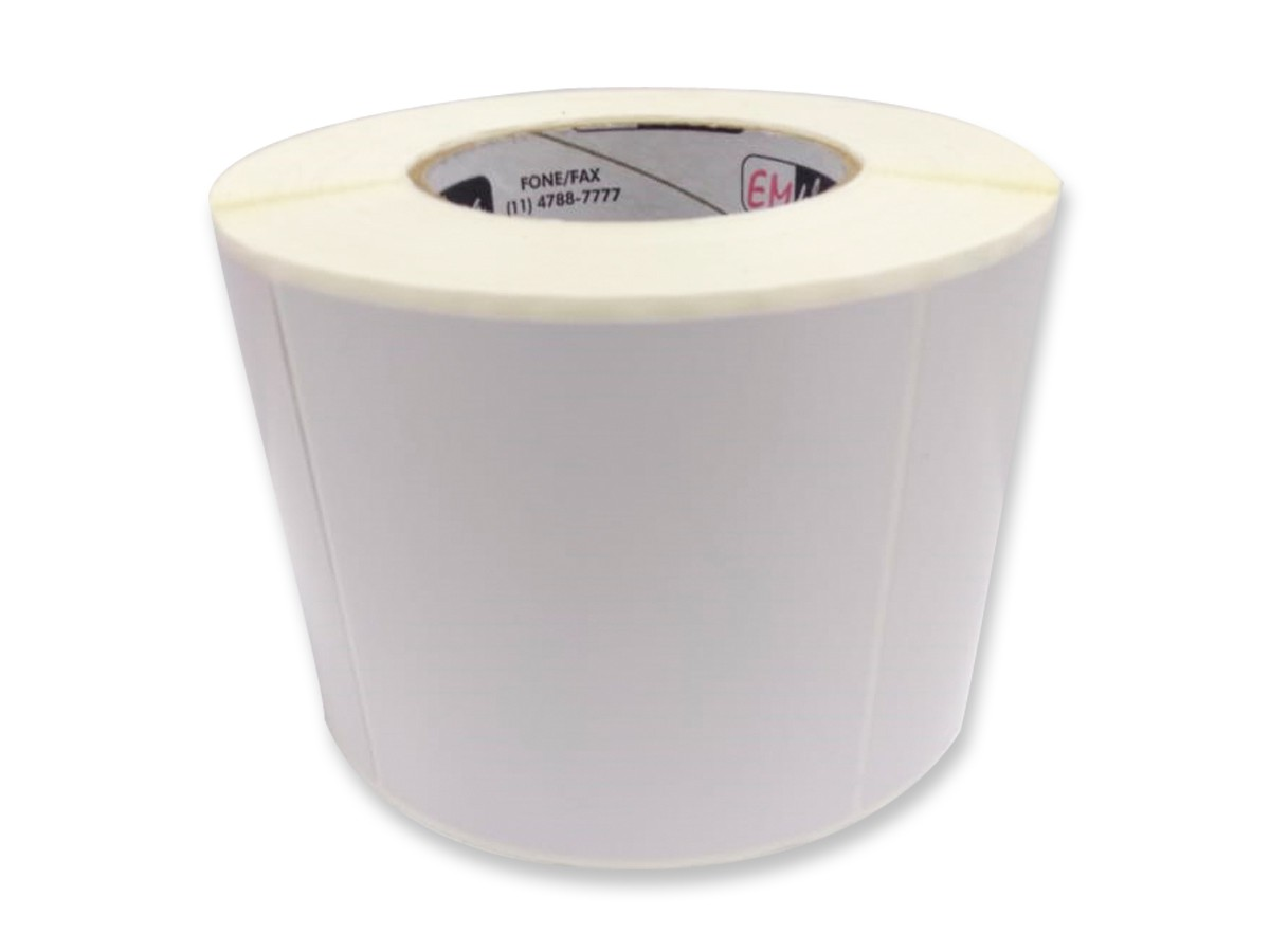 Etiquetas Adesivas em Rolo – 100x100mm / 10x10cm