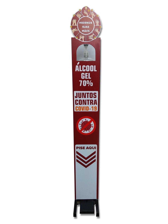 Dispenser Alcool Gel Personalizado