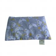 Calm Baby Almofada Térmica Natural Nuvem cinza e amarela unisex - Tamanho U