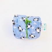 Calm Kids Almofada Térmica Natural Panda Azul - Tamanho M