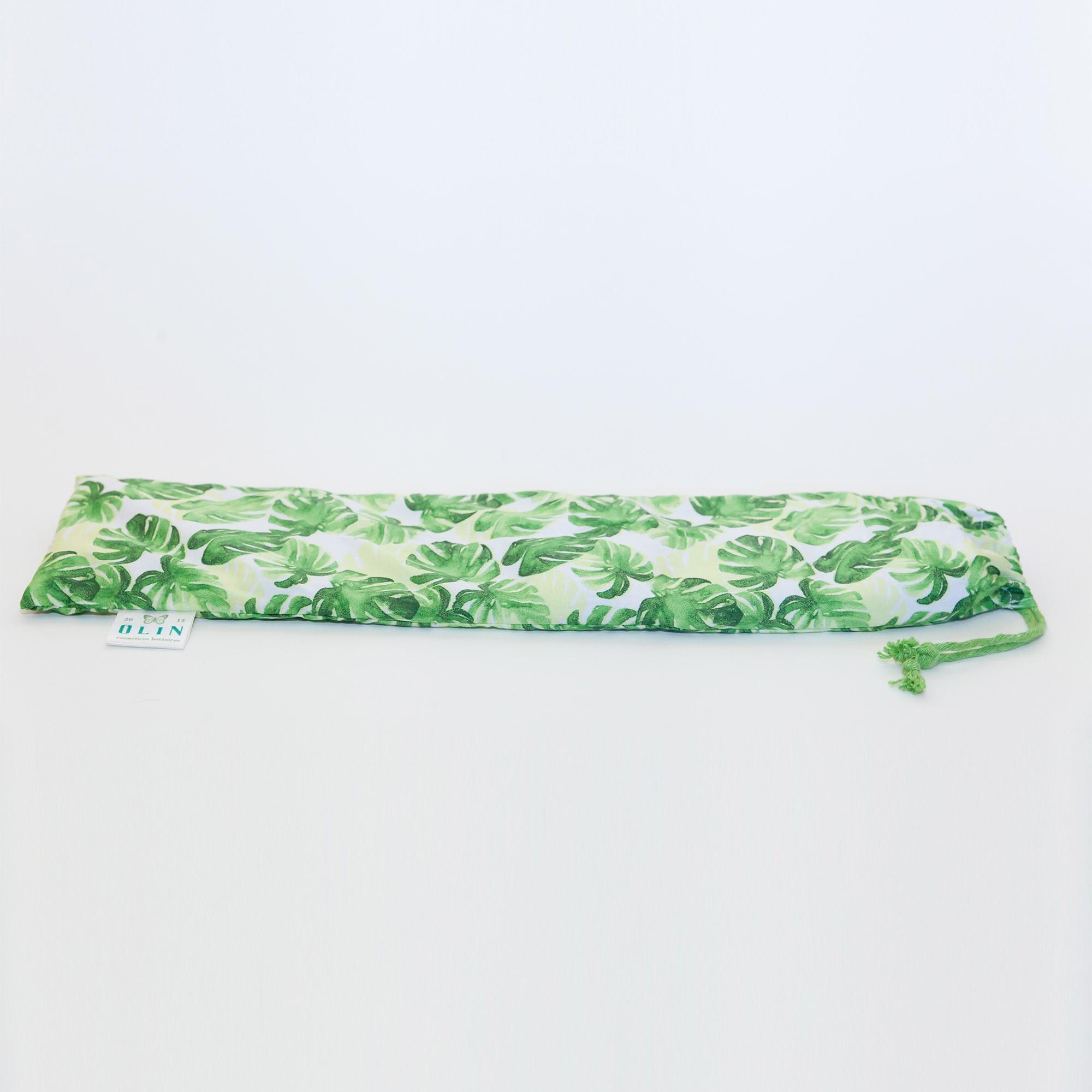 Almofada Térmica Natural Verde Folhagem Adão