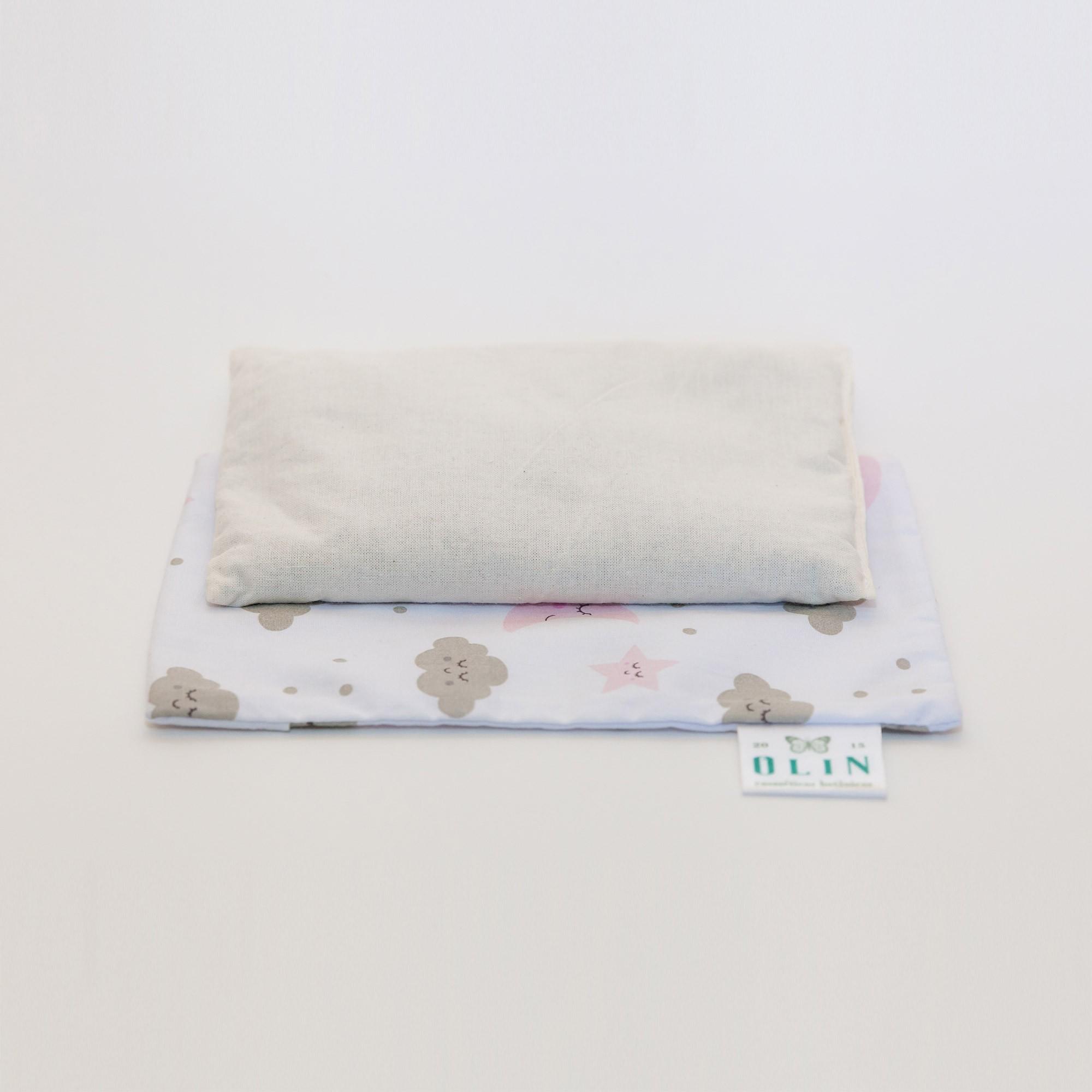Calm Baby Almofada Térmica Natural Nuvem Rosa - Tamanho U