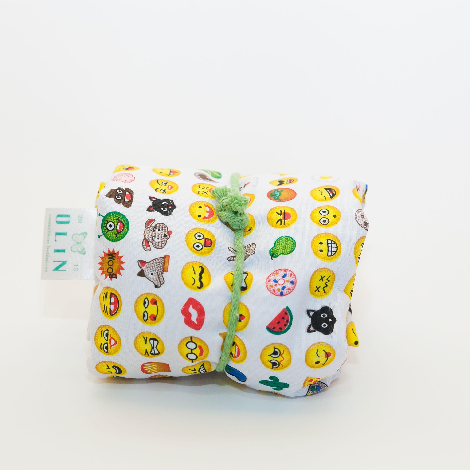 Calm Kids Almofada Térmica Natural Emoji - Tamanho M