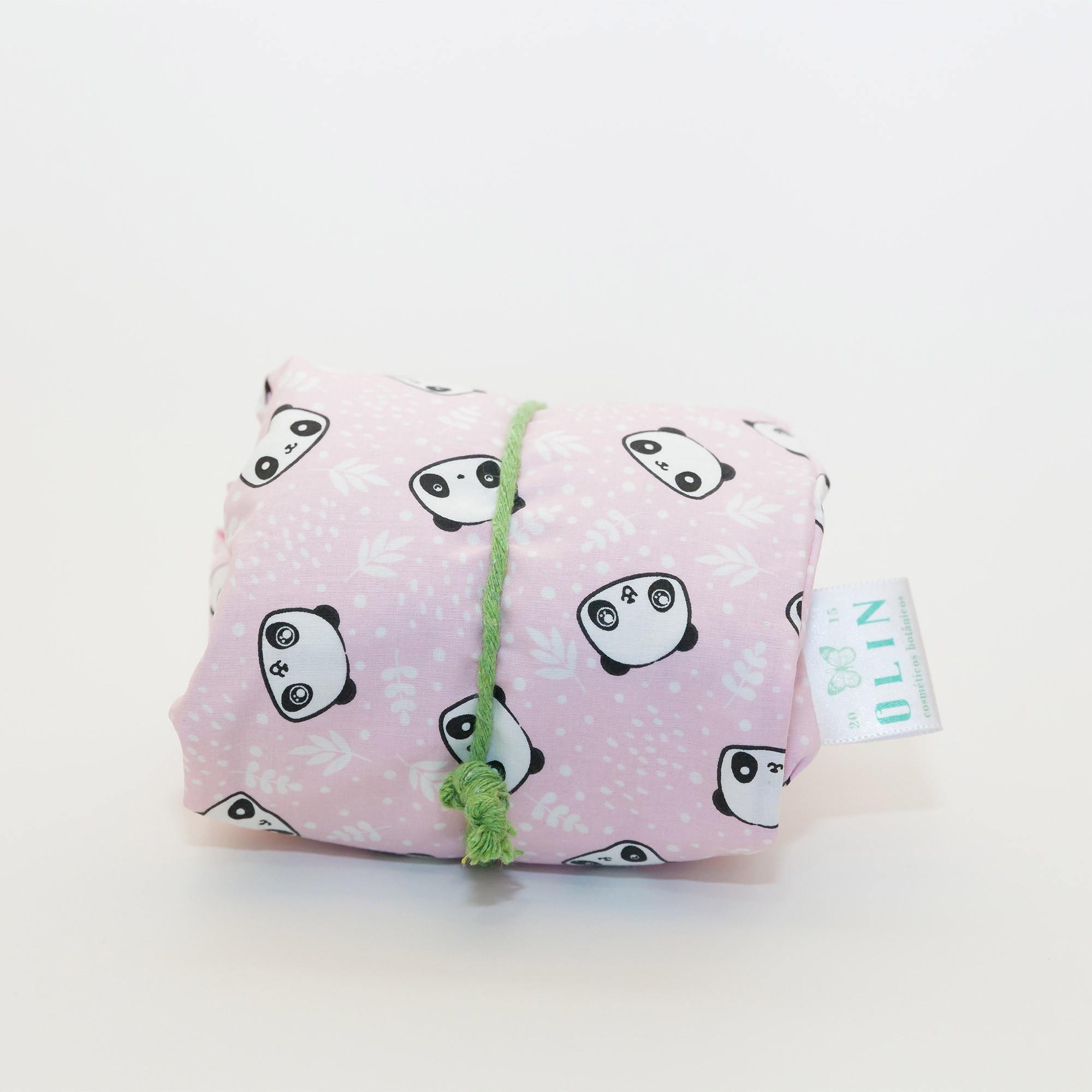 Calm Kids Almofada Térmica Natural Panda Rosa - Tamanho M