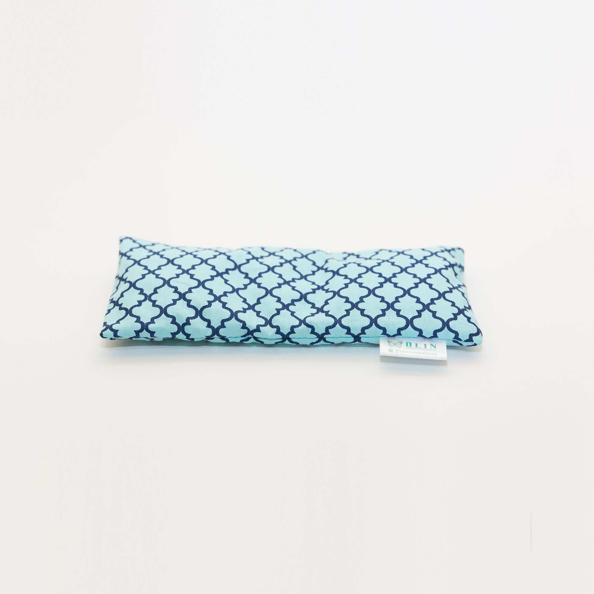 Eye Pillow Almofada Térmica Turquesa Marrocos | Beth Pedote