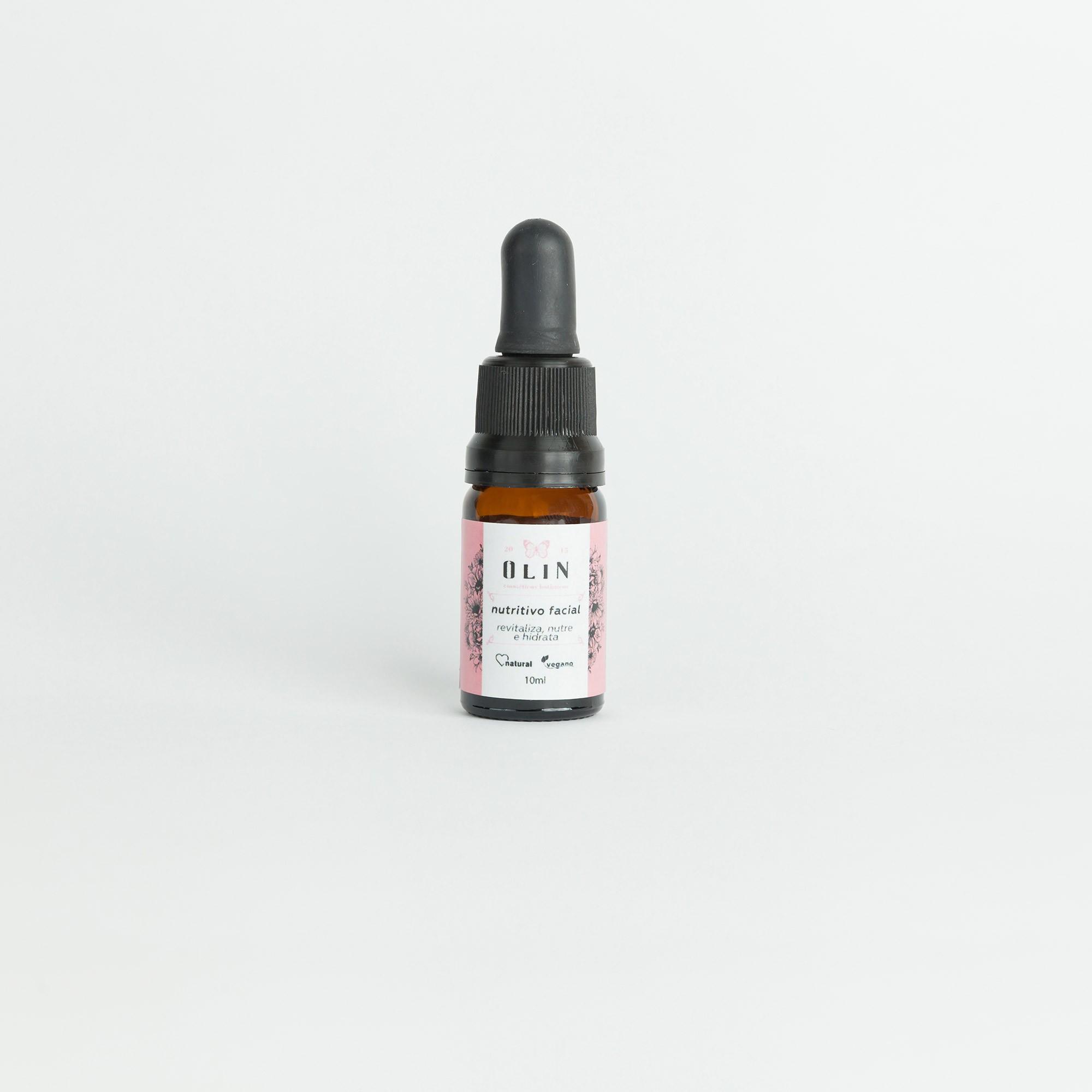 Óleo Nutritivo Facial Olin Cosméticos Botânicos - 10ml