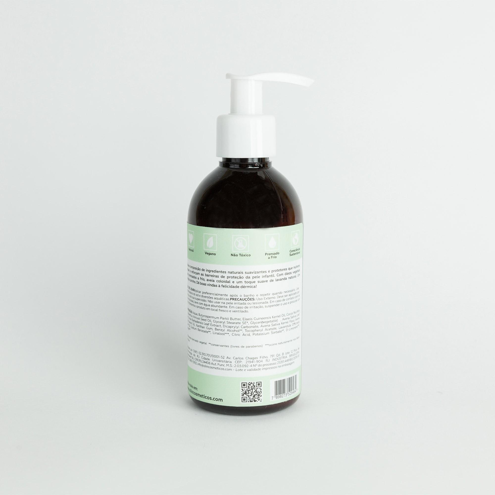 ULTRA Hidratante Corporal INFANTIL Aveia e Lavanda - 200ml