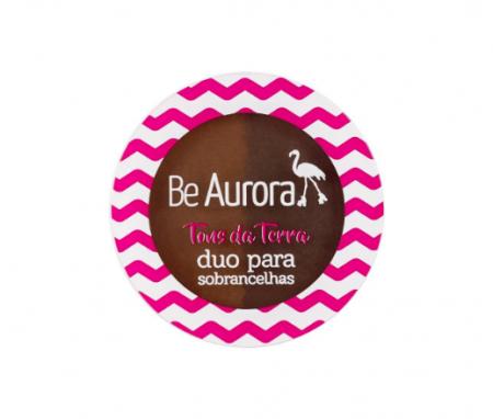 Be Aurora Duo para Sobrancelhas Tons da Terra