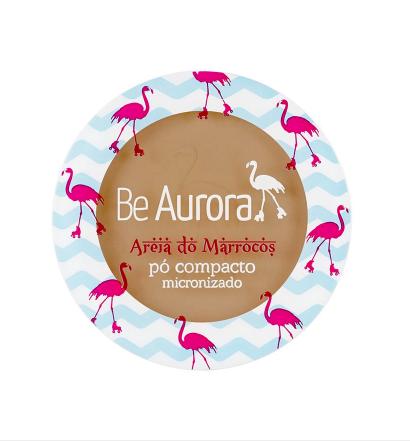 Be Aurora Pó Compacto Micronizado  Areia do Marrocos  Marrom Médio