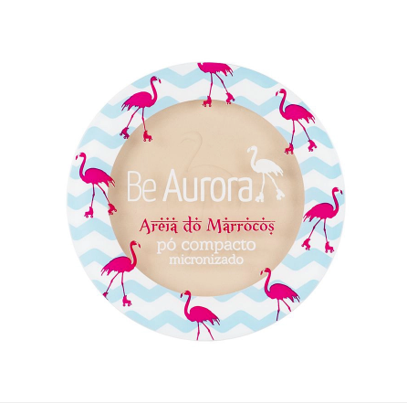 Be Aurora Pó Compacto Micronizado Areia do Marrocos Nude Claro Nº01