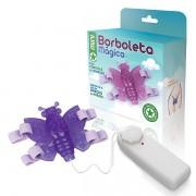 Mini Borboleta mágica lilás