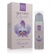 MULTIPLE ORGASM - Gel para massagem do corpo feminino