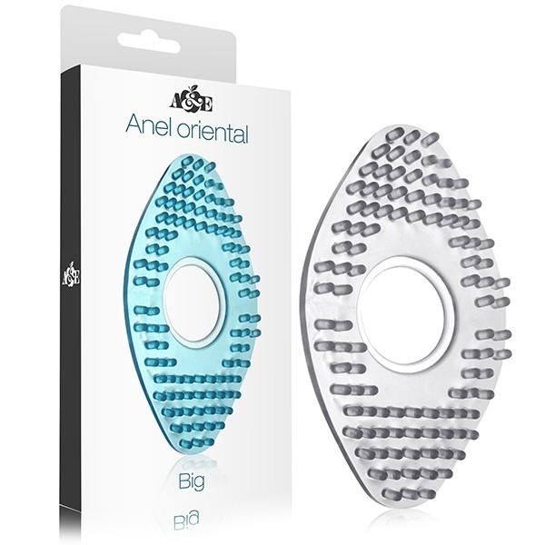 Anel Oriental Grande em silicone - Transparente