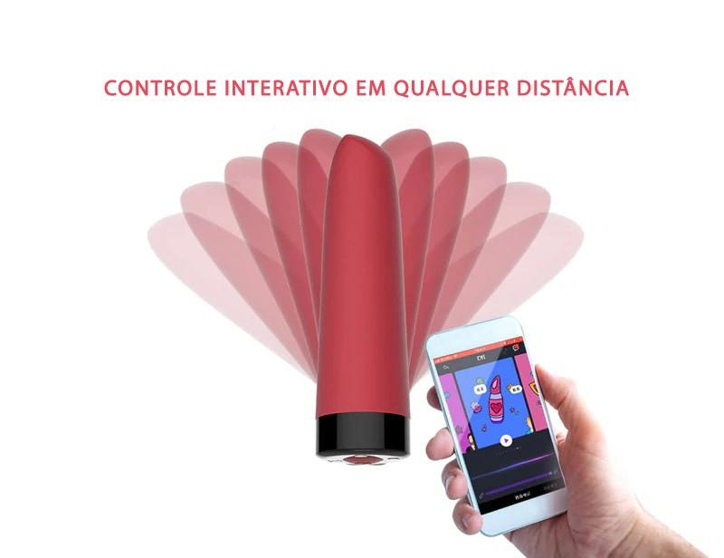 Vibrador Awaken - Magic Motion - Controlado também por Celular