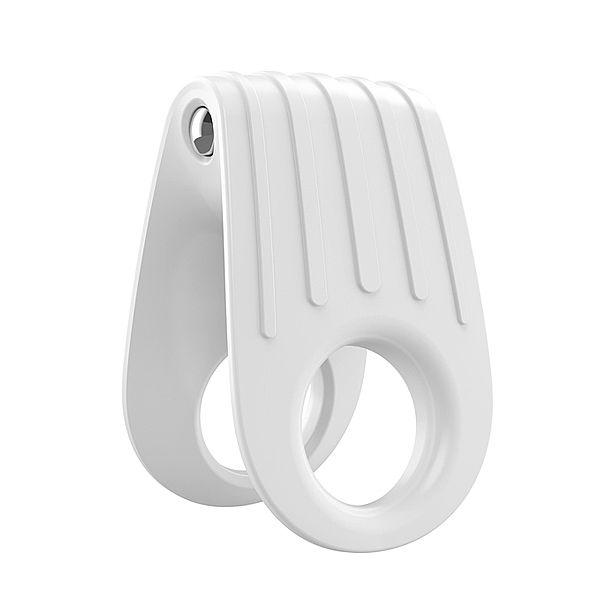 Anel com Vibrador B12 - White - Ovo Lifestyle