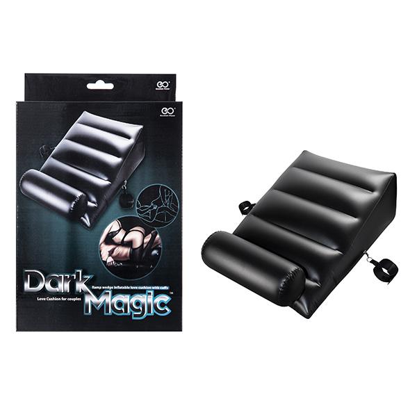 Dark Magic - Colchão Inflável em PVC com algemas