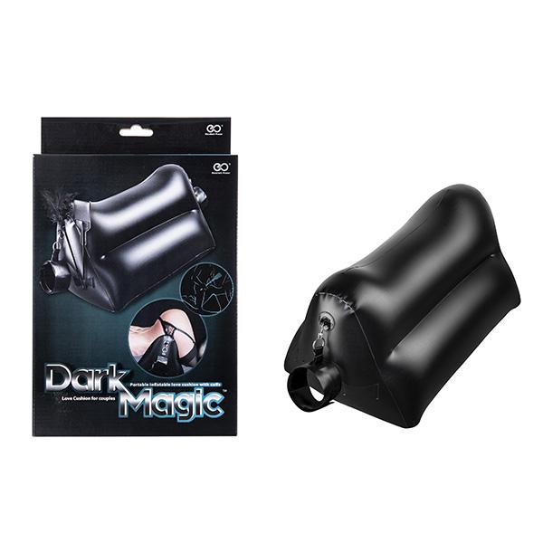 Dark Magic - Colchão Inflável em PVC com algemas e chibatas