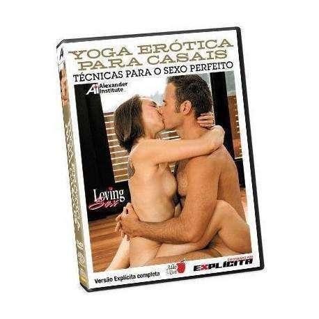 DVD Loving Sexy - Yoga Erótica para Casais