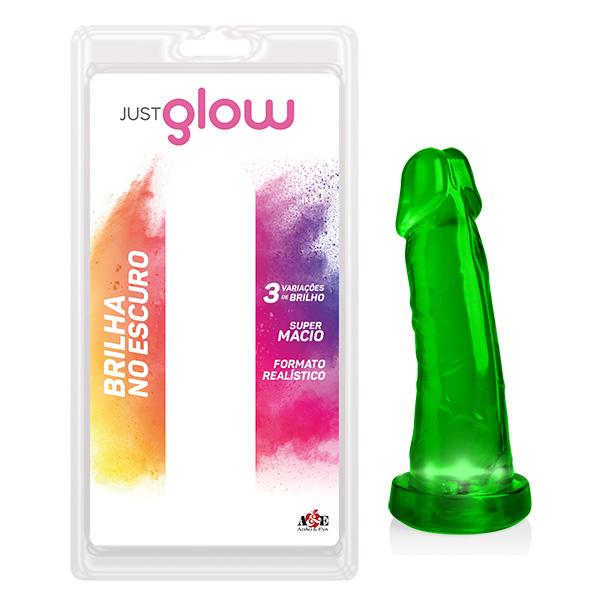 Just Glow - Prótese 8 com LED - Verde