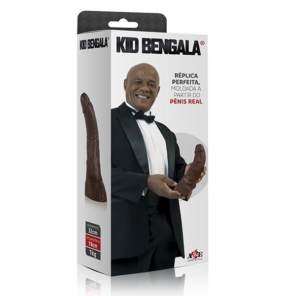 Kid Bengala - Réplica perfeita moldada a partir do penis real - 32cm