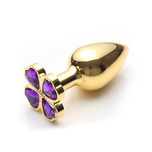 Lust Metal - Plug Flower Diamond Gold