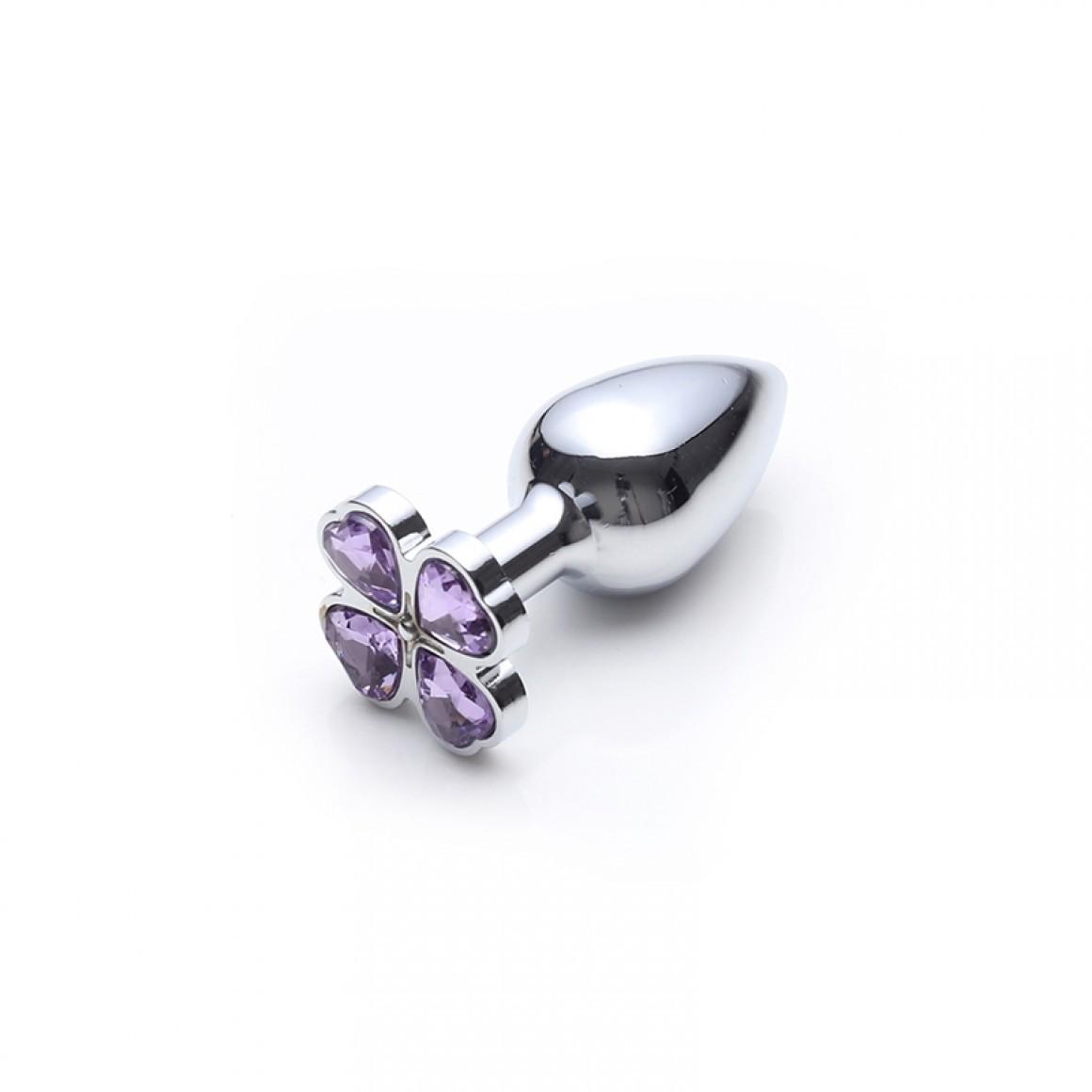 Lust Metal - Plug Flower Diamond Silver