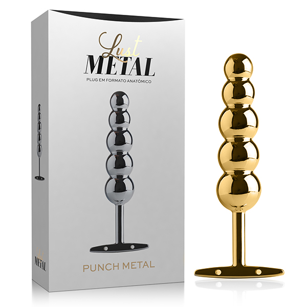 Lust Metal - Plug Punch Metal Gold