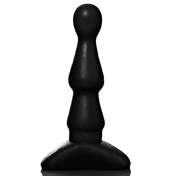 Plug Anal Bi-Fase,13 x 2,5 cm na cor preto