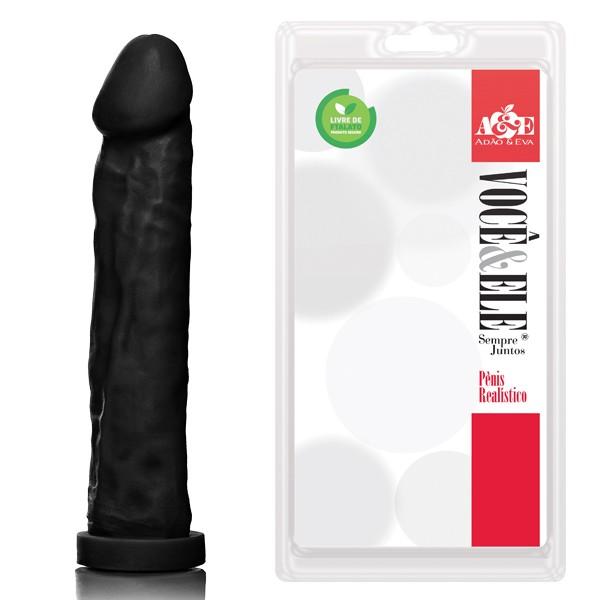 Prótese Gigante - 27,5x5,5 cm na cor preto