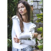 Blusa Autumn White