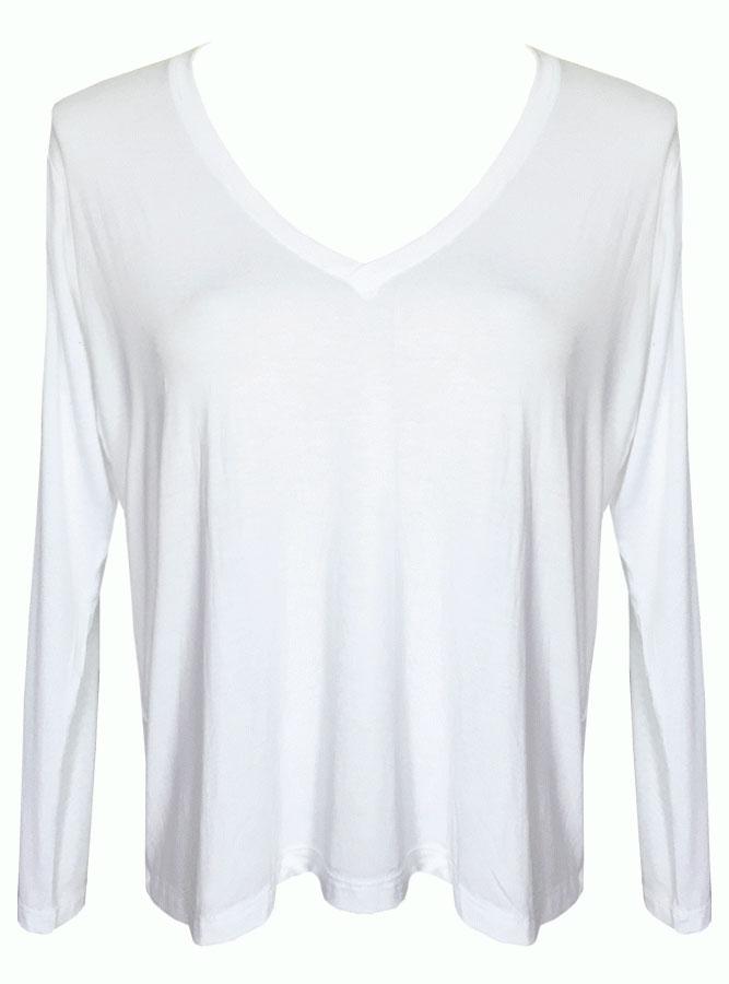Blusa Ampla Branca