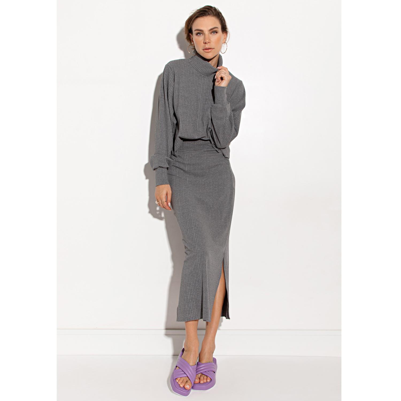 Blusa Ivory Grey