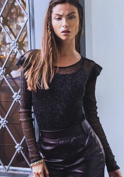 Blusa Millie Lurex