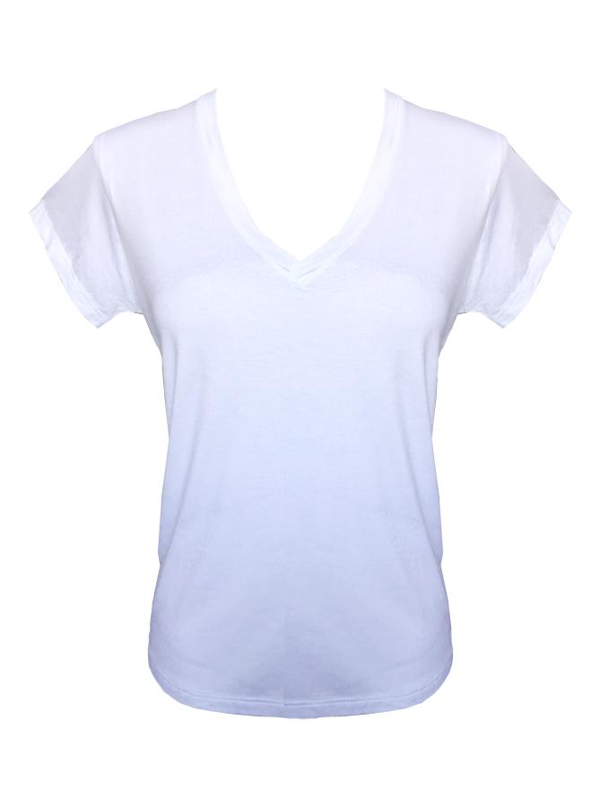 Camiseta Ampla Branca