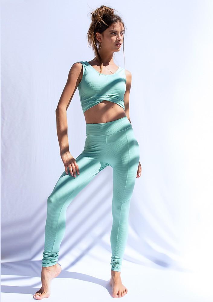 Legging Azul Menta