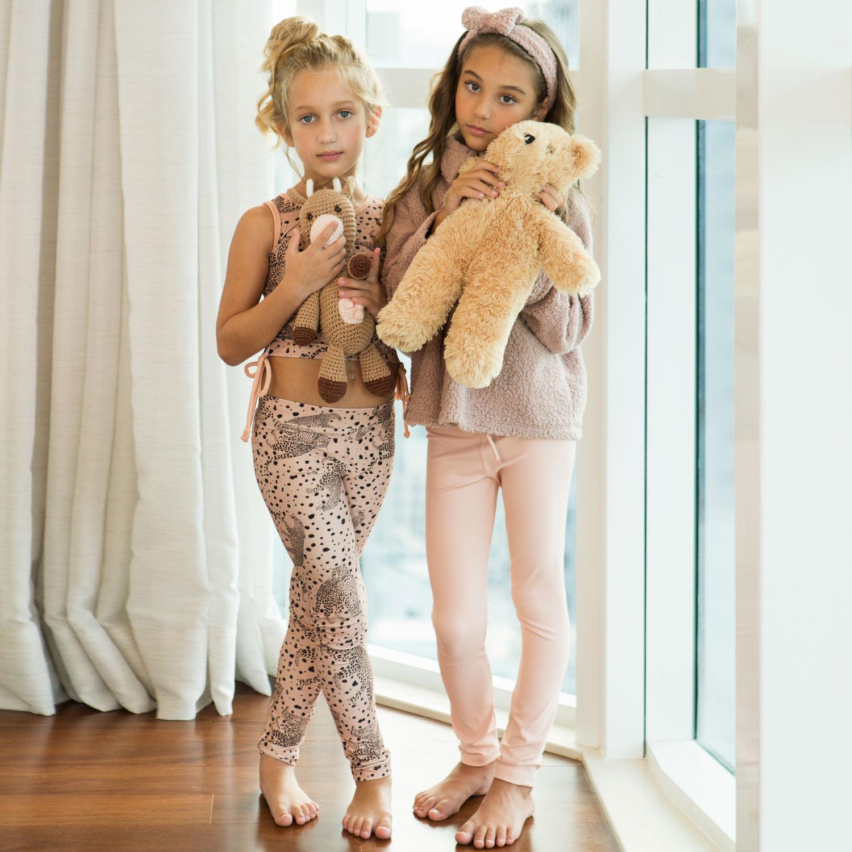 Legging Infantil Rosê