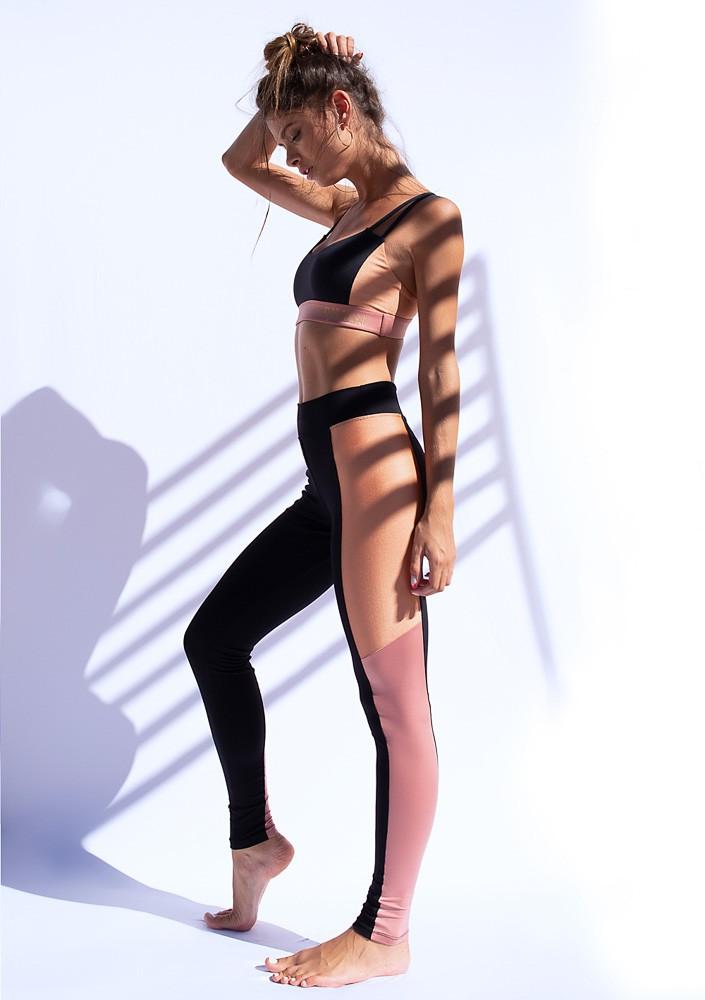 Legging Recorte Rose Nude