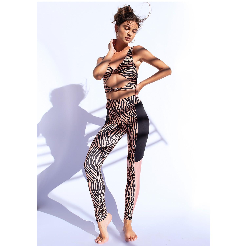 Legging Zebra Recortes