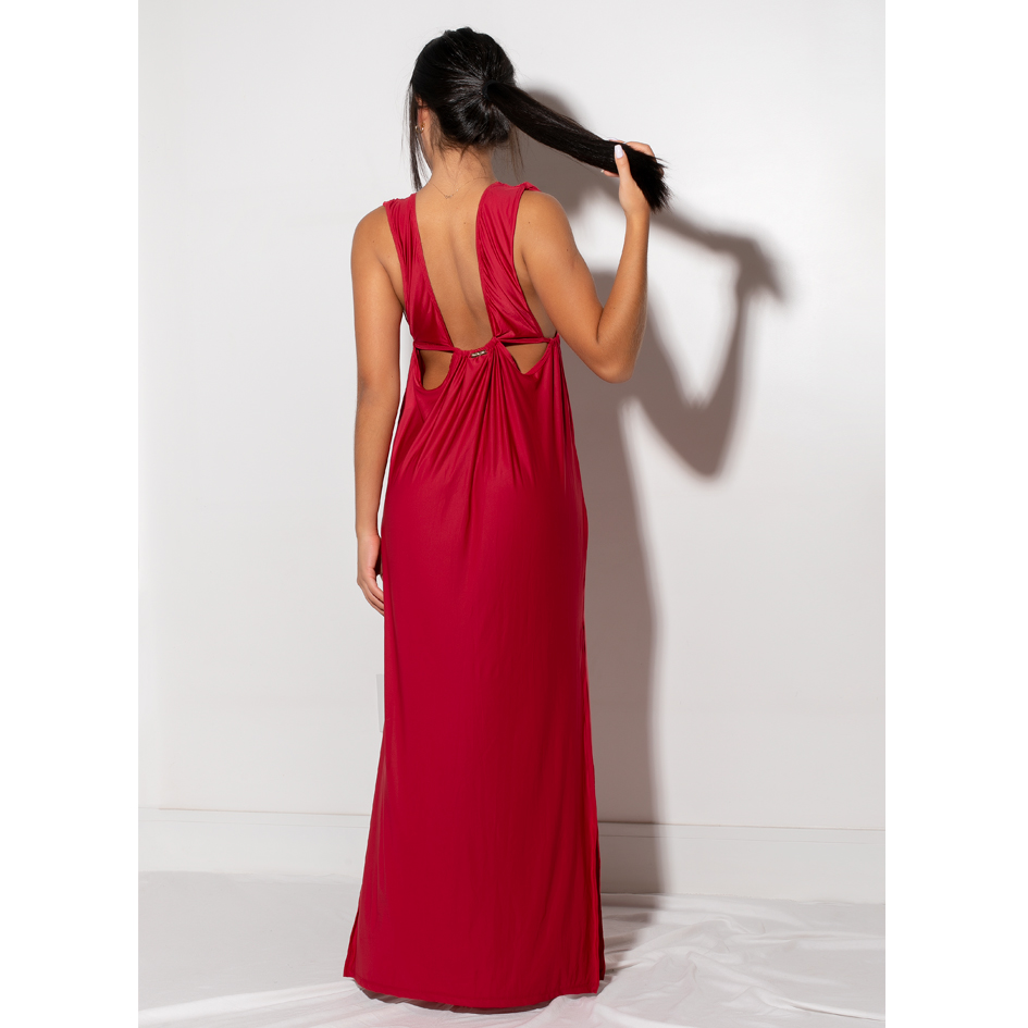 Saída/Vestido Camelia Red