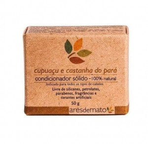 Condicionador Sólido - Cupuaçu e Castanha do Pará - 100% Natural