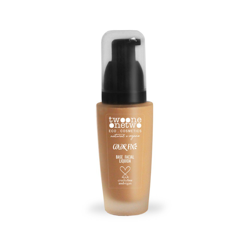 Base Facial Natural Vegano Color Fix Twoone Onetwo 40g Rose Beige - 02