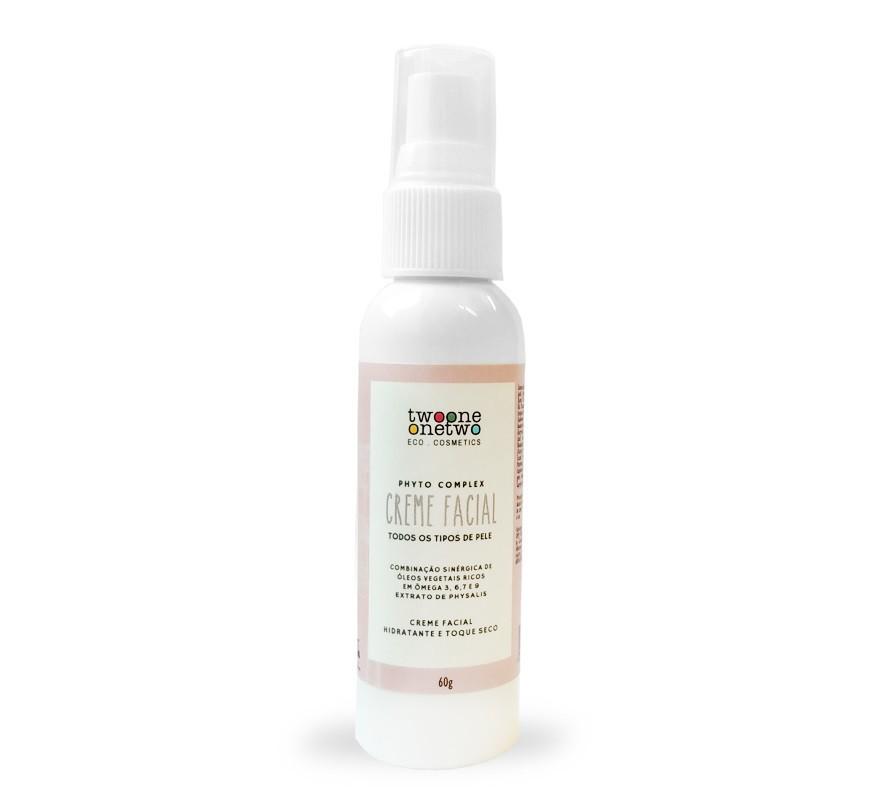 Creme Facial Hidratante Natural Vegano Omegas Physallis 60g