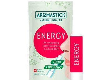 Inalador Natural Energizante Aromastick - Energy