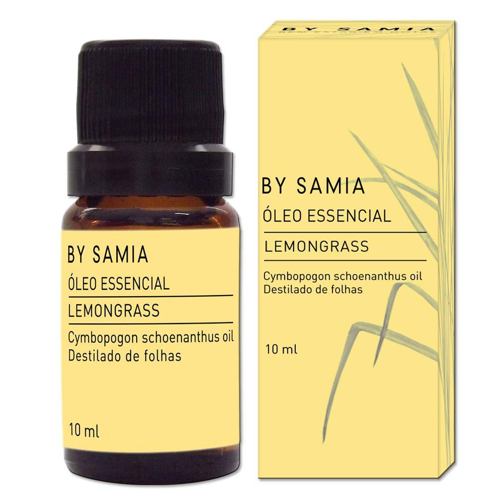 Óleo Essencial de Lemongrass 10 ml - By Samia