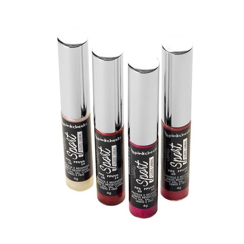 Sport Gloss Cor Fire Red 4ml - Pink Cheeks