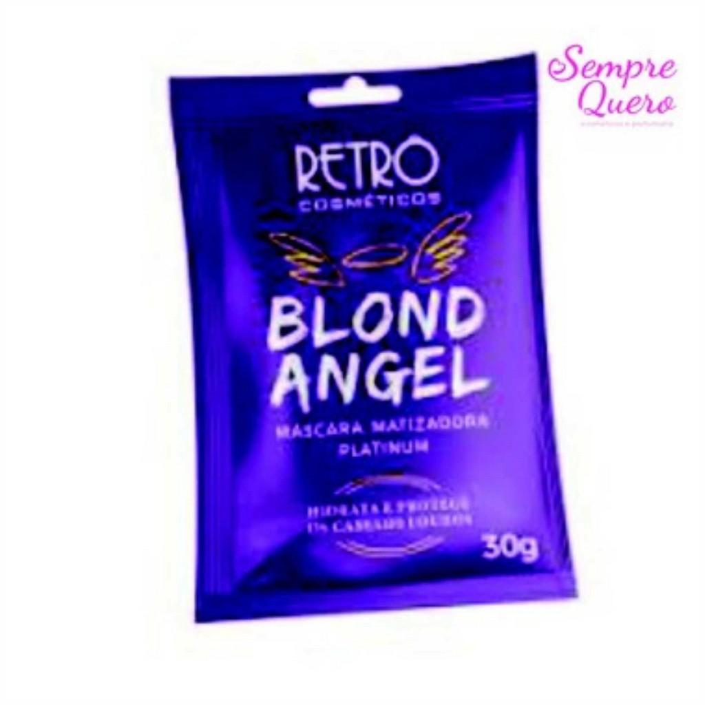 BLOND ANGEL PLATINUN - 30GRS - RETRO COSMÉTICOS