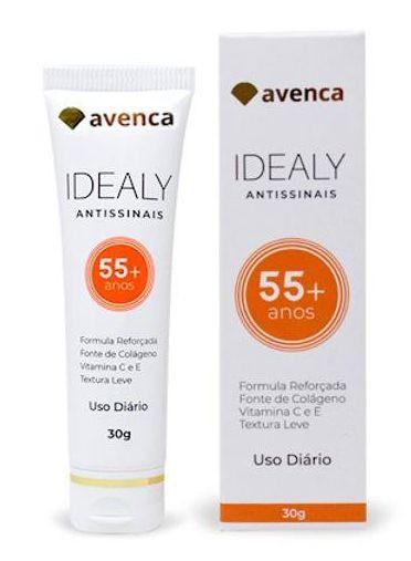 IDEALY ANTI SINAIS 55+ ANOS - AVENCA 30G