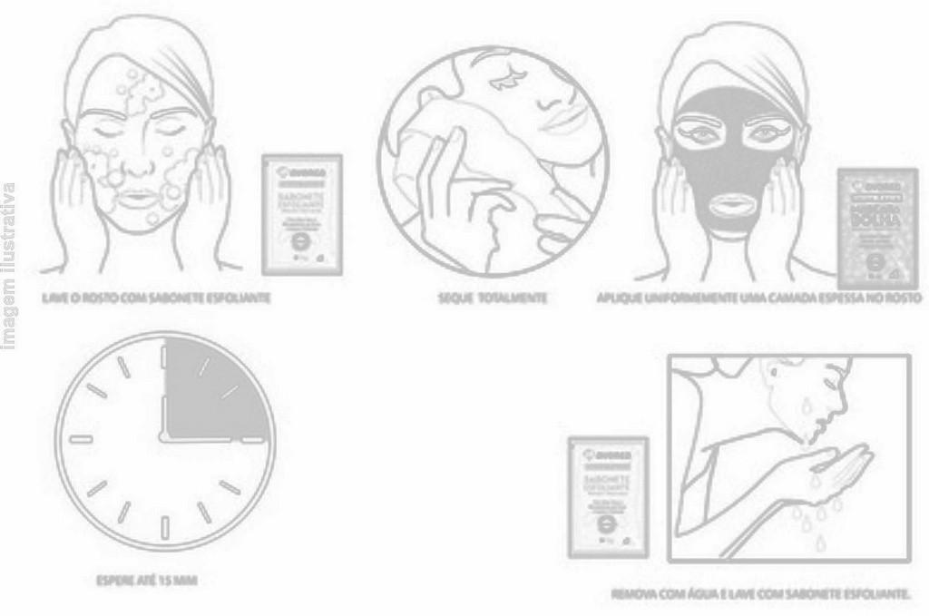 Kit Detox Sabonete e Máscara - Desintoxicação e Limpeza dos Poros. 10g cada.